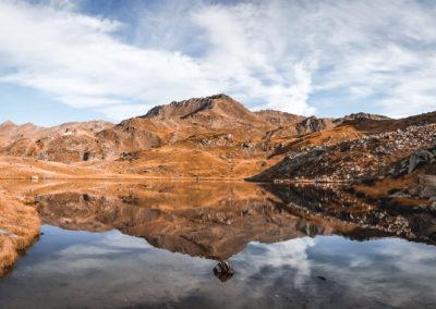 Le lac long - Haute vallée de la Clarée