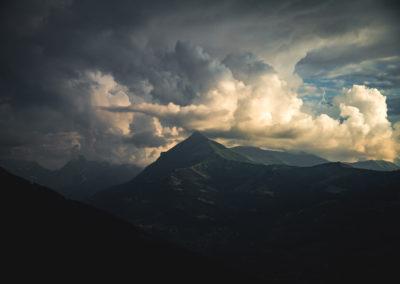 Face au Mont Joly
