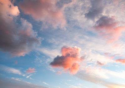 Nuages au-dessus du col du petit saint-bernard