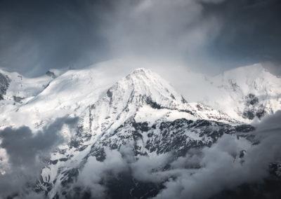 Sous le Mont Blanc