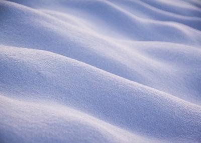 Vagues de neige