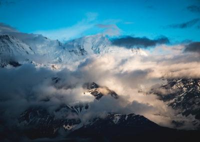 Sous le Mont-Blanc